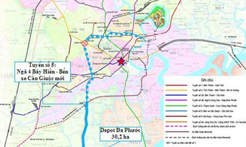 TP HCM kêu gọi đầu tư nhân đầu tư metro