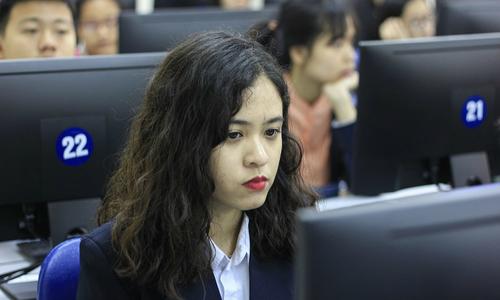 Hơn 1.000 thí sinh thi vòng loại tin học văn phòng quốc gia -