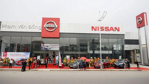 Nissan Phạm Văn Đồng với diện tích sử dụng hơn 5.000 m2.