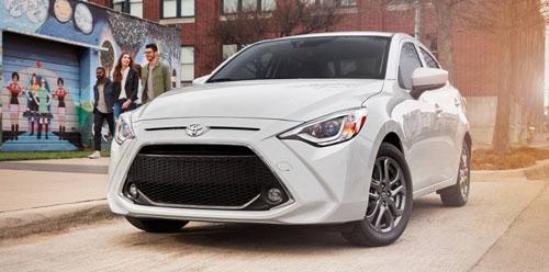 Scion iA sedan được đổi tên thành Toyota Yaris sedan khi bước sang đời 2019.