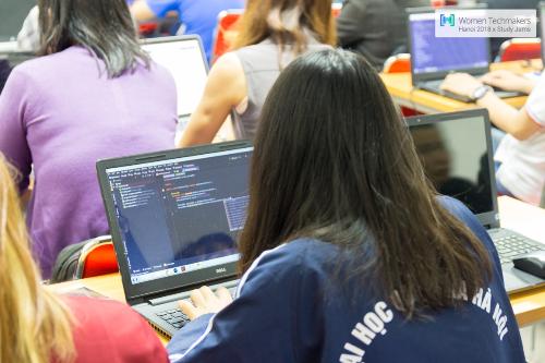 Sự kiện diễn ra dưới hình thức khoá học online Msites Study Jam.