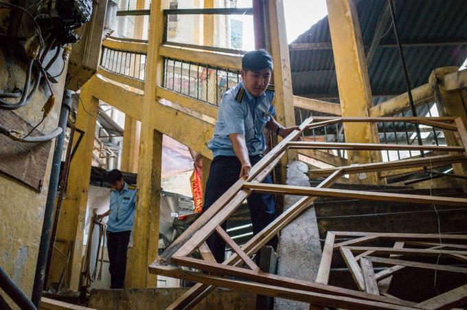 Hiểm họa cháy nổ trong các chung cư ở trung tâm Sài Gòn