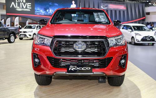 Hilux phiên bản nâng cấp ra mắt tại Bangkok Motor Show. Ảnh: Tuấn Cao.