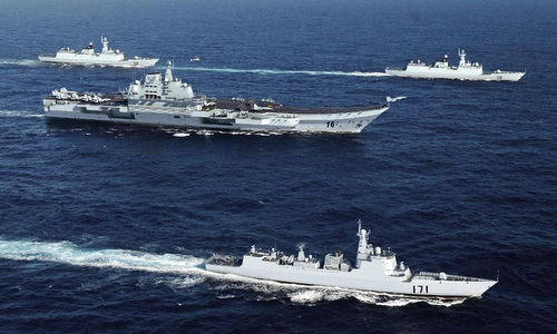 Trung Quốc mập mờ về tàu sân bay Liêu Ninh ở Biển Đông