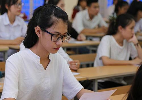 Thí sinh được cộng tối đa 0,5 điểm ưu tiên và tối đa 4 điểm khuyến khích khi xét tốt nghiệp THPT. Ảnh: Hoàng Táo