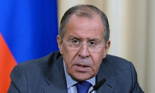 Ngoại trưởng Nga Sergei Lavrov. Ảnh: RT.