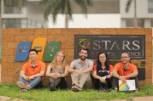 Sinh viên Đại học FPT.