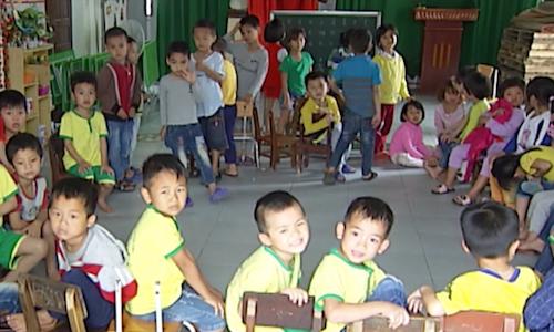 Hơn 600 trẻ ở Nghệ An phải ở nhà vì không có trường mầm non