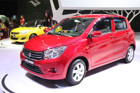 Suzuki Celerio gia nhập khân khúc hactchback hạng A tại Việt Nam.