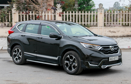 Giá xe Honda CR-V tăng 5 triệu trong tháng 4.