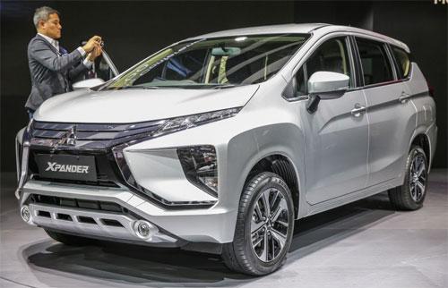 Mitsubishi Xpander dự kiến về Việt Nam khoảng quý III/2018. Ảnh: Paultan.