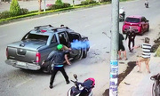 Nổ súng thanh toán nhau giữa đường ở Đồng Nai