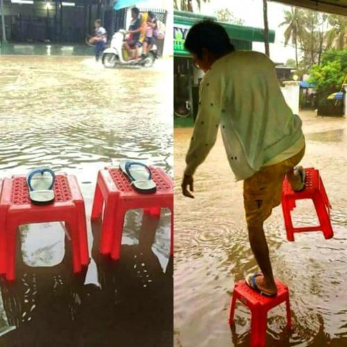 Biện pháp hiệu quả nhất để di chuyển khi mùa mưa đến.