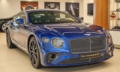Bentley giới thiệu Continental GT thế hệ mới tại Malaysia.