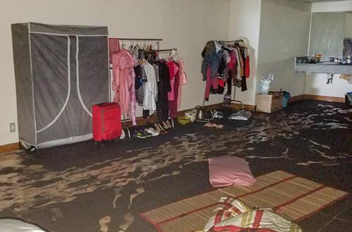 Các căn hộ bị hư hỏng được sửa chữa 100%. Ảnh: Duy Trần
