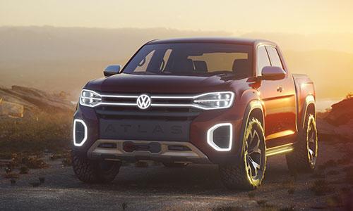 Volkswagen Atlas Tanoak Concept.