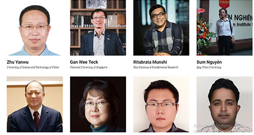 PGS TS Nguyễn Sum trong danh sách do tạp chí uy tín của Singapor bình chọn.