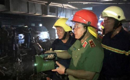 Trung tướng Bùi Văn Thành: Xử lý hình sự các vụ cháy nghiêm trọng