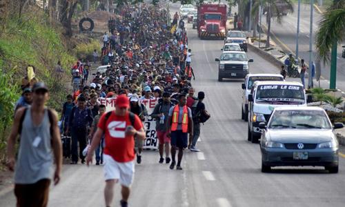 Đoàn di dân 1.200 người sẽ không sang Mỹ