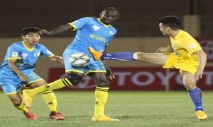 TP HCM 0-2 SLNA(Đá bù vòng 1 - V.League 2018)