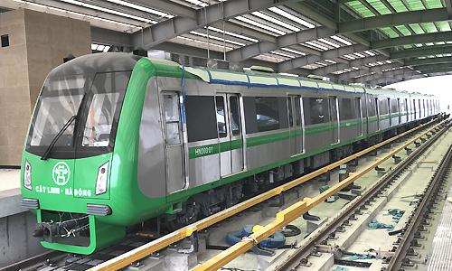 Giá vé tàu Cát Linh - Hà Đông cao hơn xe buýt