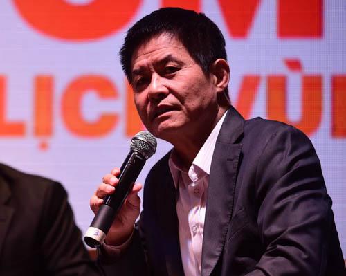Ông Nguyễn Quốc Kỳ, Tổng giám đốc Công ty Vietravel. Ảnh: Quang Định.