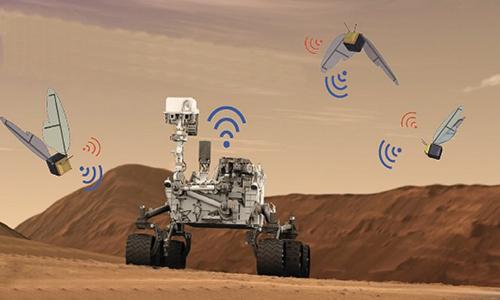 Robot ong thăm dò sao Hỏa Marsbees của NASA. Ảnh: New York Post.