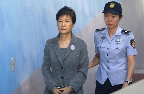 Cựu tổng thống Hàn Quốc Park Geun-hye. Ảnh: EFE.