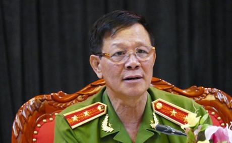 Ông Phan Văn Vĩnh khi còn là trung tướng, Tổng cục trưởng. Ảnh: Công an nhân dân