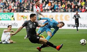 Augsburg 1-3 Bayern Munich(Vòng 29 - Bundesliga 2017/18)