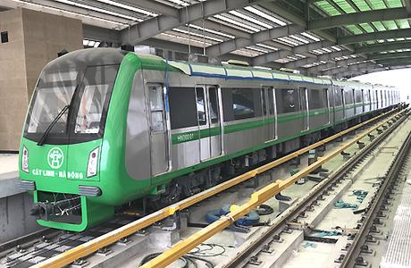 Đường sắt trên cao Cát Linh - Hà Đông sẽ vận hành vào tháng 10