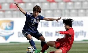 Nhật Bản 4-0 Vietnam(Bảng B - CK Bóng đá Nữ Châu Á 2018)