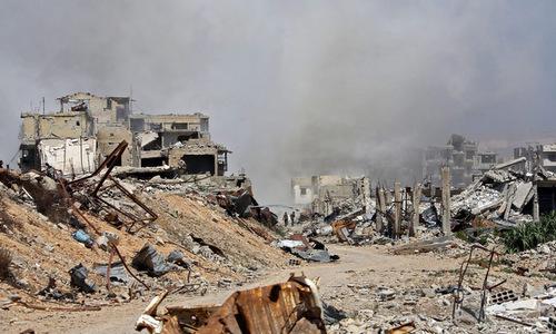 Quân đội Syria bị cáo buộc tấn công hóa học làm 49 người chết