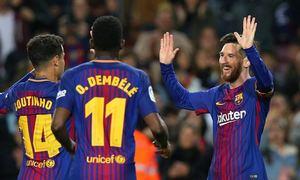 Barcelona 3-1 Leganes(Vòng 31 - La Liga 2017/18)