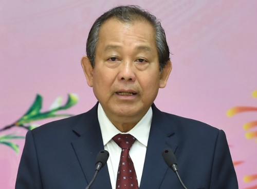 Phó thủ tướngTrương Hoà Bình giao Thanh tra Chính phủlàm rõ trách nhiệm quản lý đất nông nghiệptại Phú Quốc. Ảnh: VGP