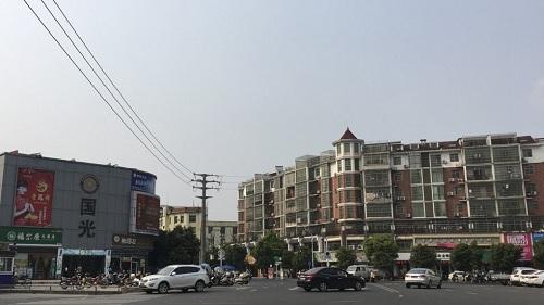 Giá nhà ở Vạn An, thị trấn nhỏ thuộc hạng nghèo nhất nước ở tỉnh Giang Tây, đang tăng chóng mặt. Ảnh: SCMP.