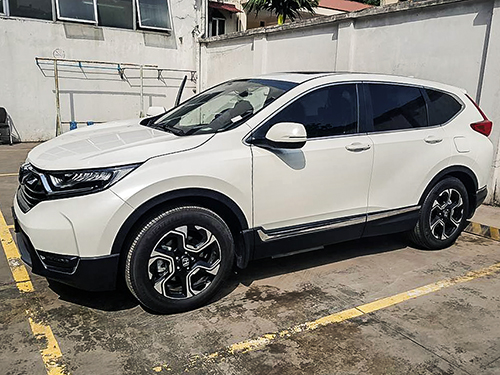 Honda CR-V kém vị trí thứ 10 trong danh sách xe bán chạy 9 xe. Ảnh: Nguyễn Quang.