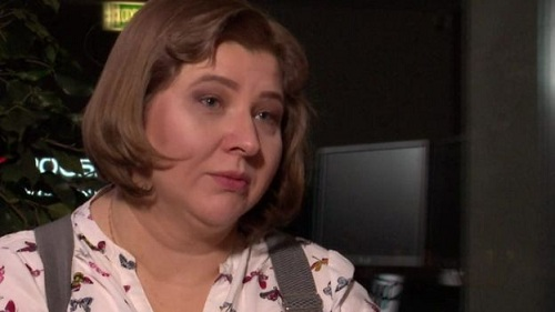 Viktoria, cháu họ của cựu đại tá Nga. Ảnh: BBC.