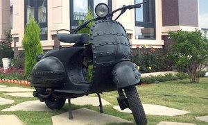 Vespa 150 1956 ở Đà Lạt 62 năm vẫn chạy