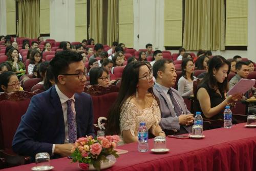 Hội thảo Làm chủ tiếng Anh, làm chủ cuộc đời do IMAP Việt Nam tổ chức vào đầu tháng 4 có sự tham gia của trung tâm tư vấn đào tạo quốc tế CIEC (thuộc Bộ Giáo dục và Đào tạo).