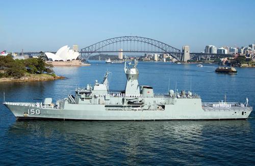 Ba tàu Hải quân Hoàng gia Australia sắp cập cảng Sài Gòn - ảnh 1