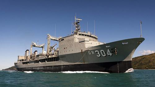 Ba tàu Hải quân Hoàng gia Australia sắp cập cảng Sài Gòn - ảnh 2