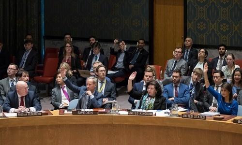 Liên Hợp Quốc bác dự thảo của Nga lên án cuộc tấn công Syria