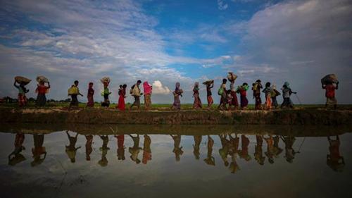 Reuters giành giải ở hạng mục Ảnh củaPulitzer nhờ các tác phẩm về cuộc khủng hoảng người Rohingya ở Myanamar. Ảnh: Reuters