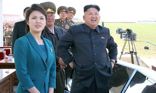 Vợ Kim Jong-un được trao danh vị đệ nhất phu nhân - ảnh 1