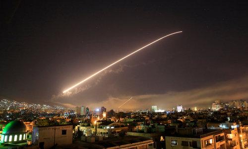 Tranh cãi quanh tuyên bố Syria hạ 71 tên lửa liên quân Mỹ - ảnh 1