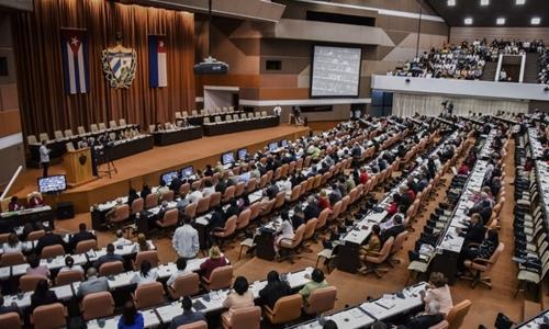 Quốc hội Cuba họp này 18/4. Ảnh: AFP.
