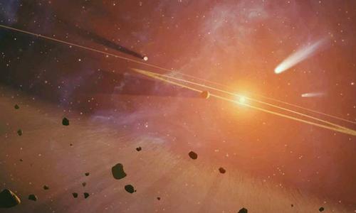 Vũ trụ thời kỳ sơ khai có thể tồn tại nhiều hành tinh hơn ngày nay. Ảnh: NASA.