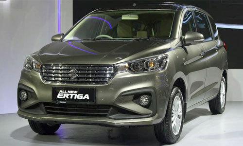 Suzuki Ertiga thế hệ mới ra mắt ở Indonesia