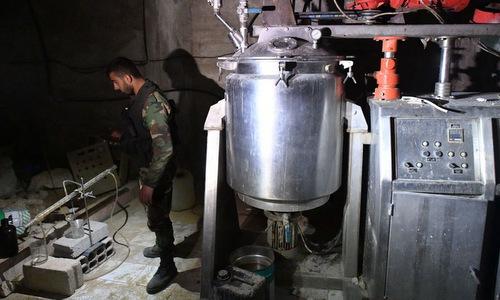 Nga phát hiện xưởng chế tiền chất vũ khí hóa học của phiến quân Syria